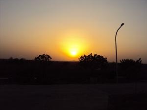 वर्धा में सूर्योदय (१४ अप्रैल,२०१०)