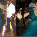 Charmi and Devi Sri Prasad danced together in a pub