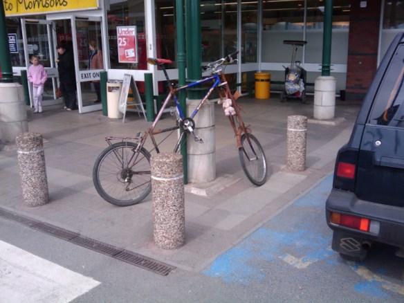 Mutant bike in Ross-On-Wye