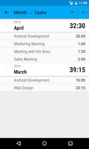Work Tracker screenshot 3