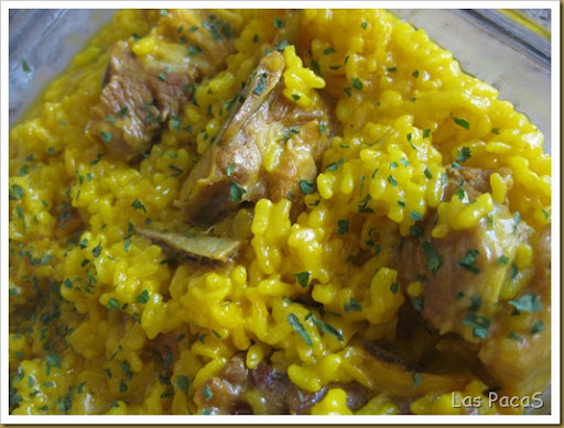 Arroz meloso con costillas FC (1)