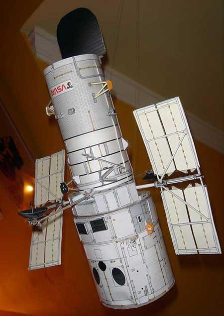 Hubble Space Telescope Papercraft Paperkraftnet Free