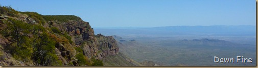 South rim hike,Big bend_030