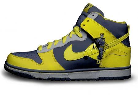 Gambar : Nike-shoes-design--superhero