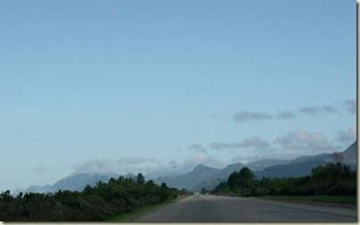 N2 West Garden Route East Cape South Africa