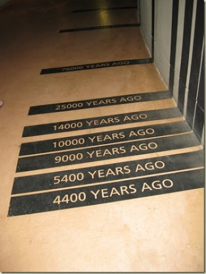 Timeline Cradle of Humankind Museum South Africa