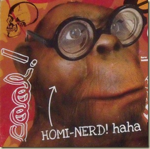 Homi-nerd sticker Cradle of Humankind Museum South Africa