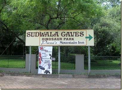 Sudwala Caves sign South Africa