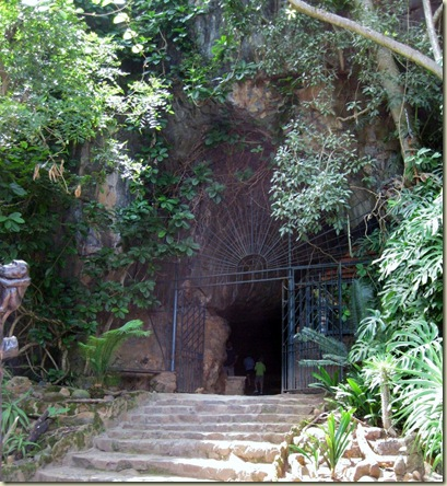 Sudwala Cave entrance South Africa