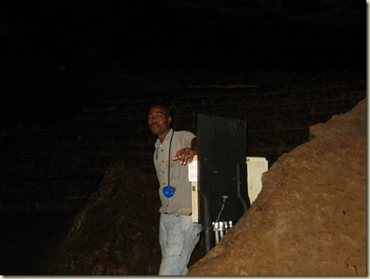 Tour guide Musa Sudwala Cave South Africa