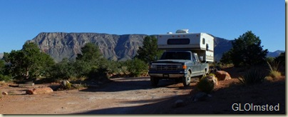 Campsite Tuweep Grand Canyon National Park Arizona