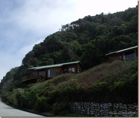 Chalets along Indian Ocean Tsitsikamma National Park Stormsriver Mouth Eastern Cape South Africa