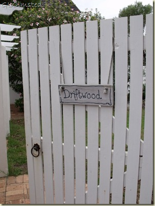 Gate to room at Anchors Rest B&B Hermanus Western Cape South Africa