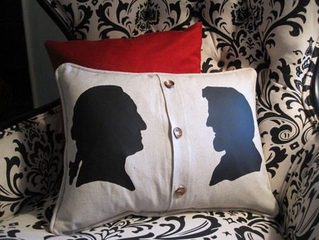 George Washington Pillow