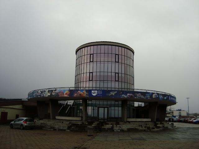 Akwarium Gdyńskie - widok od zachodu