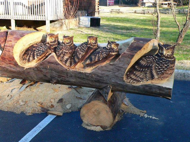 Wow Wow!!! How Awesome is This! Randall Boni - Wildlife Sculpture Artist from Tennessee