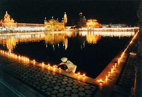 Golden Temple (Amritsar) on Diwali