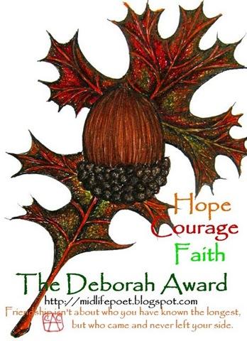 Deborah AwardTextD