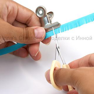 Cutting fringe