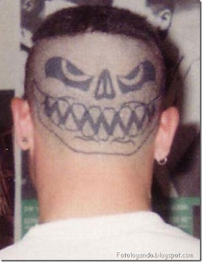 Tatuagens em cabeças raspadas (3)