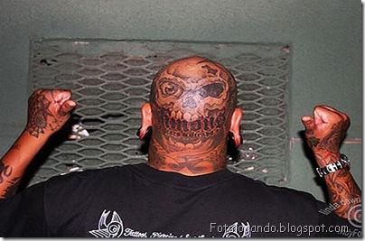 Tatuagens em cabeças raspadas (5)
