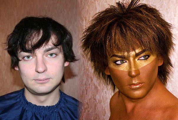 makeup before after vandreev 13 - 13 Fotos de maquiagem incríveis antes e depois