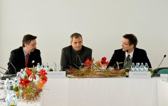 "&>""What is the future of EU-Turkey relations?&quotDiscussion with Alexandros Yannis, Kai Strittmatter (Sueddeutsche Zeitung) and Gerald Knaus. Photo: ERSTE Stiftung"