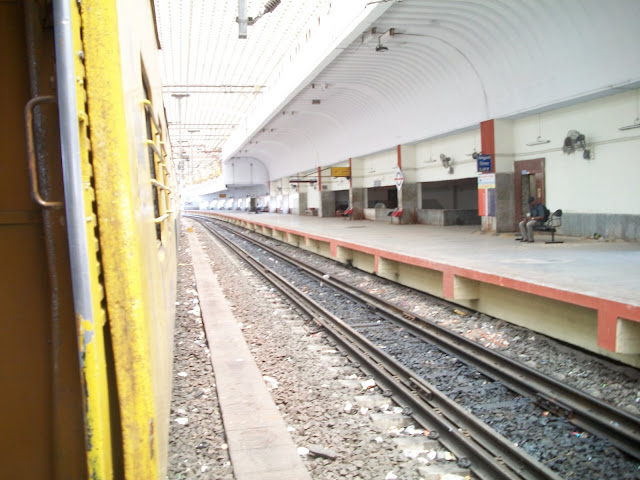 Train Reaching Station