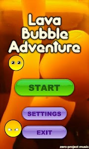 Lava Bubble Adventure FREE screenshot 0