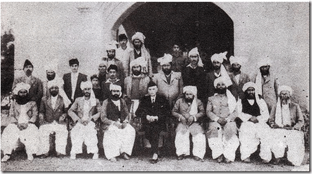 Quaid-e-Azam With Jamali Sardars in Balochistan