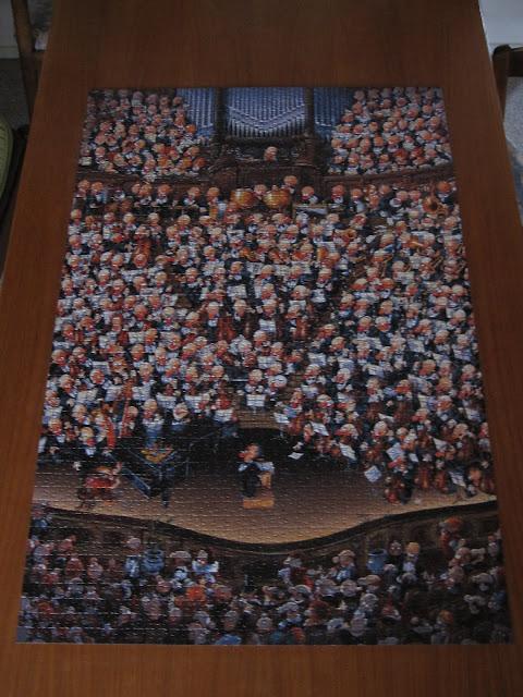 Orkester-puslespil 2000 brikker
