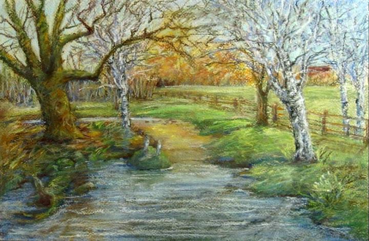 Winter Creek by Janice Austin