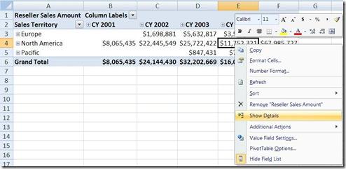 Excel_Show_Details