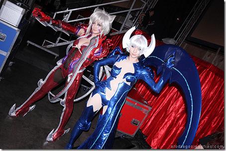 witchblade cosplay - amaha masane and shiori tsuzuki