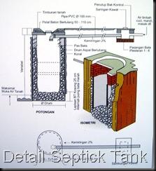 Jamban dan Septick Tank