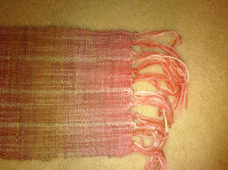 woven scarf fringe