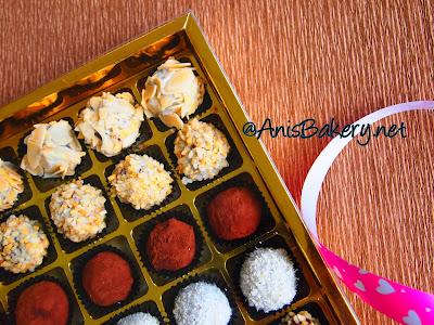 chocolate truffles @ AnisBakery.net