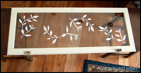 frosted glass stencils