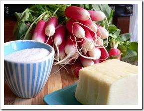 Radish, salt & butter