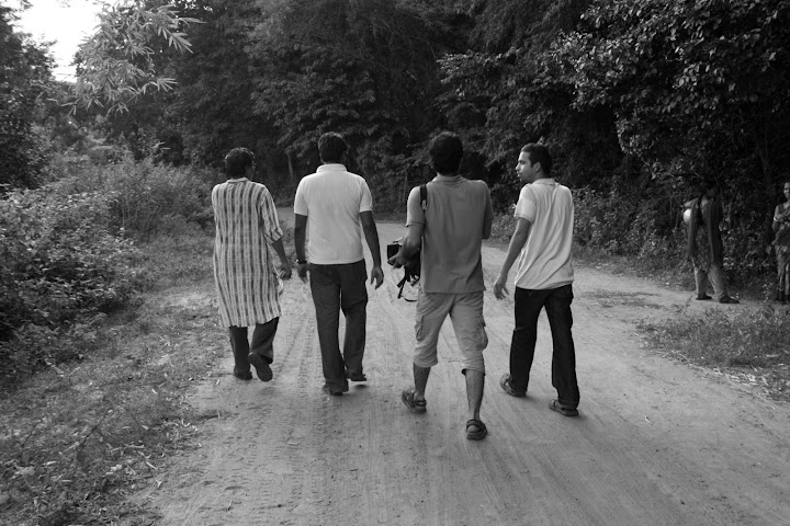 An Evening Walk in the Village