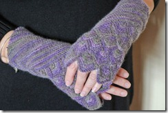 LUBUSHKA FINGERLESS GLOVES