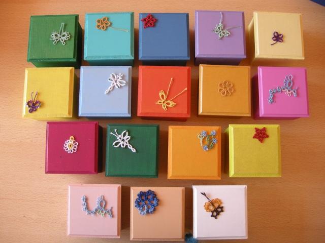 Todas las cajas decoradas vista plana