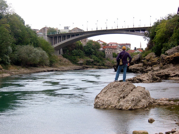 The not famous bridge in Mostar