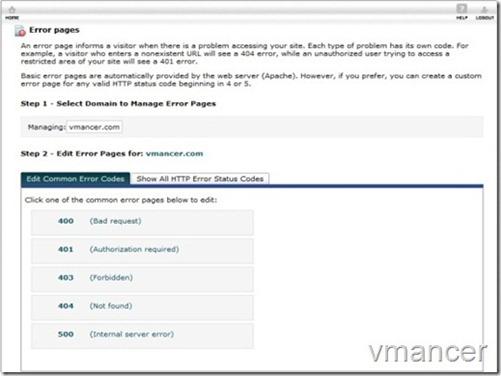 error page-edit-vmancer