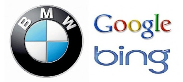bmw google bing