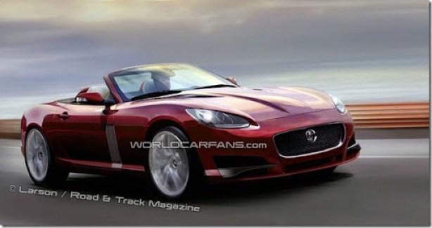 jaguar-xf-roadster-artist-rendering