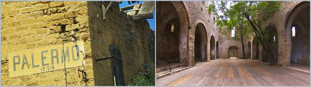 Crime - Mafia - Palermo - Bröckelnde und gepflegte historische Bausubstanz