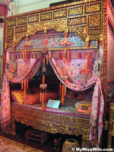 Peranakan bridal room