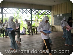 Proses Latihan Perpisahan kelas XII IPA di SMAN Pintar Kuansing 2