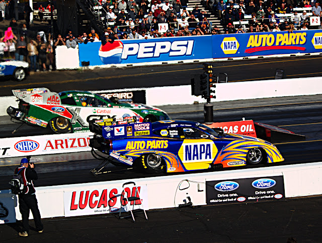 Funny car launch